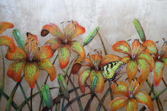 Day lilies and tigers